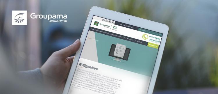 Groupama e-signature